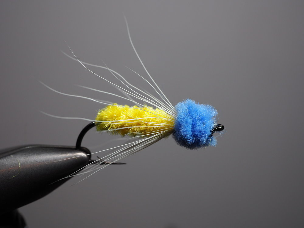 The James Wood Bucktail is great pattern for both and panfish. Click photograph for recipe.