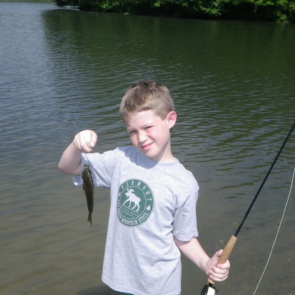 Want to teach a kid to fish?  Bluegills can help!