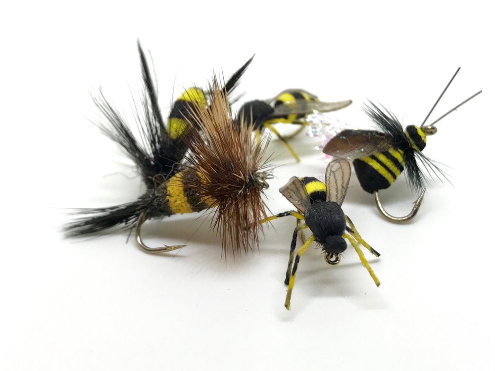 Bee patterns should be in every panfish fly box!