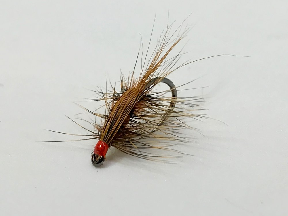 Spring's Wiggler tied as a wet fly.