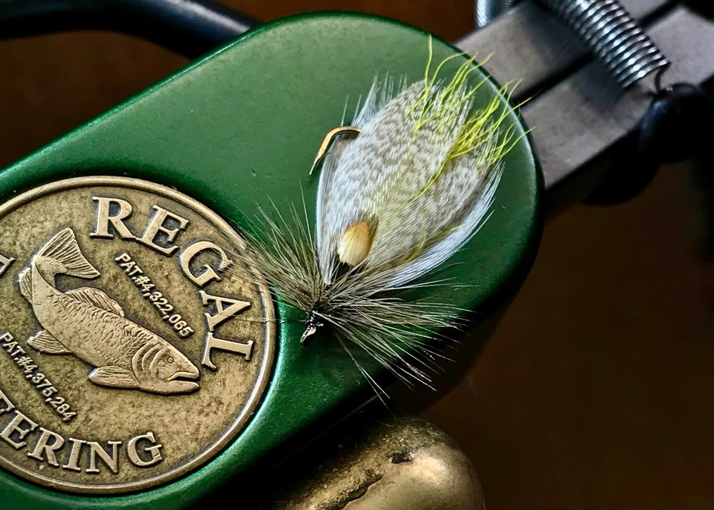 The Hornberg Special, a versatile fly that can be fished wet or dry.