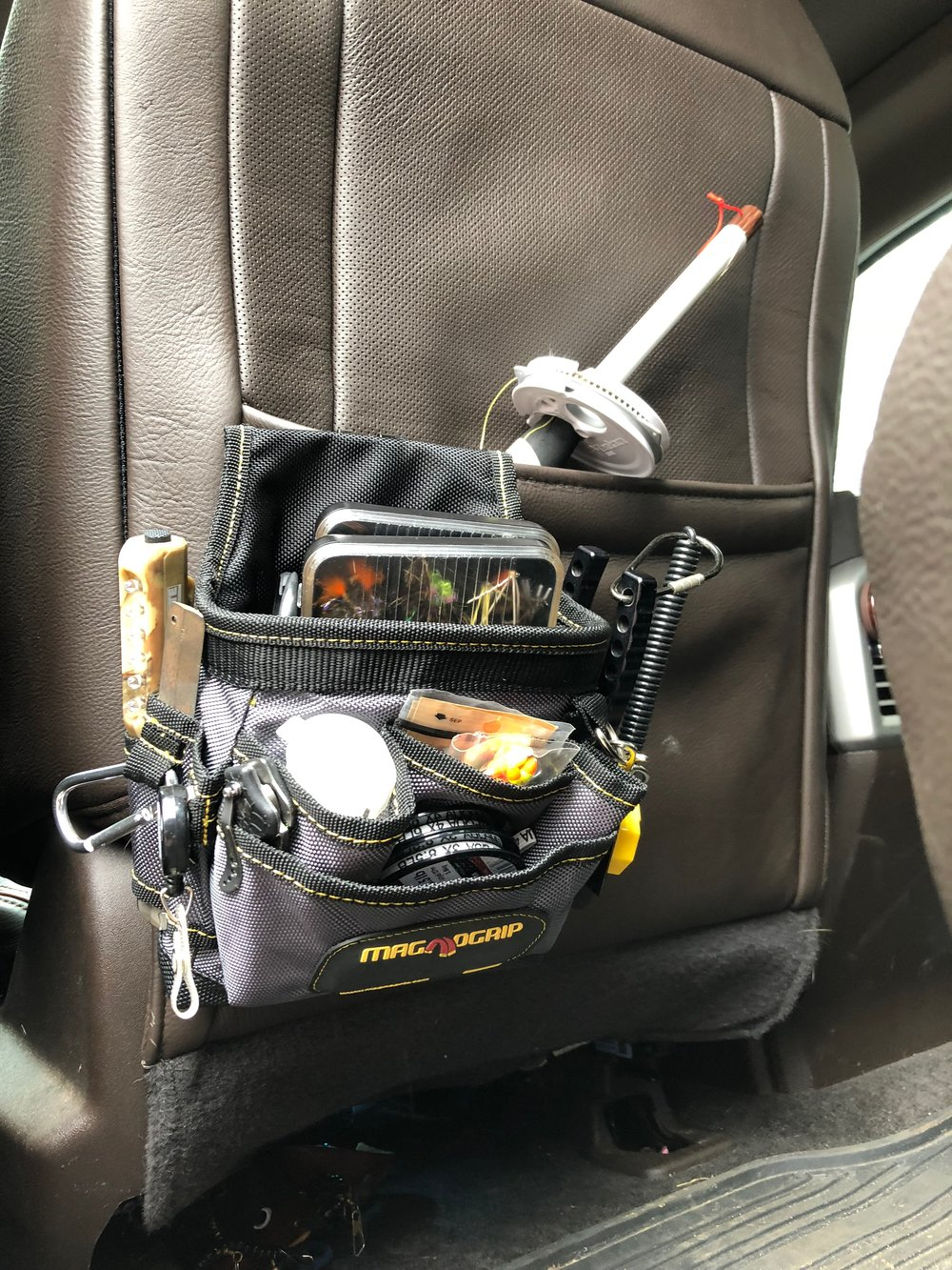 This bag is perfect for a ready at a moment's notice kit for your vehicle!