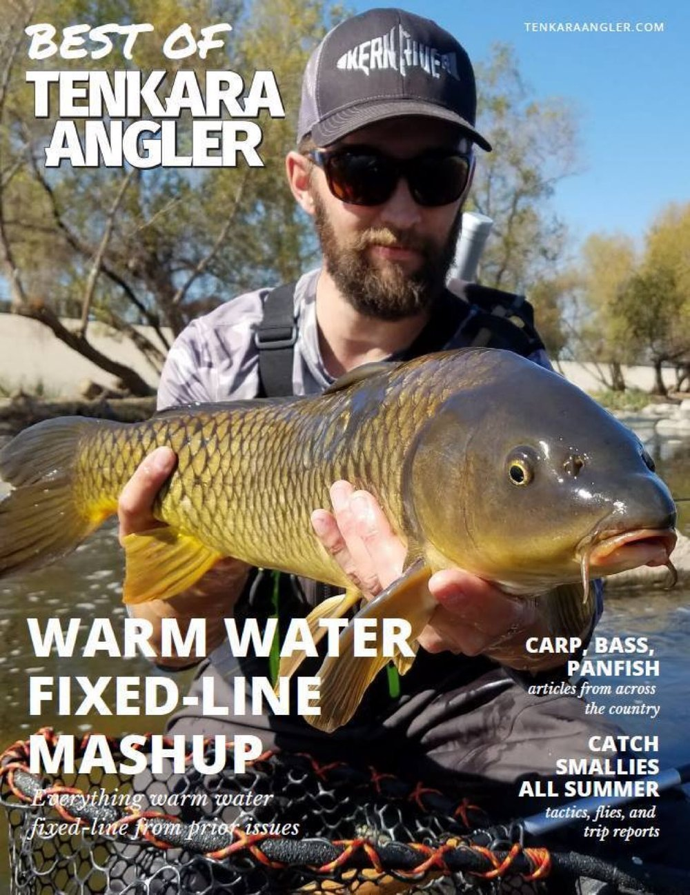 The warm water edition of the Tenkara Angler!
