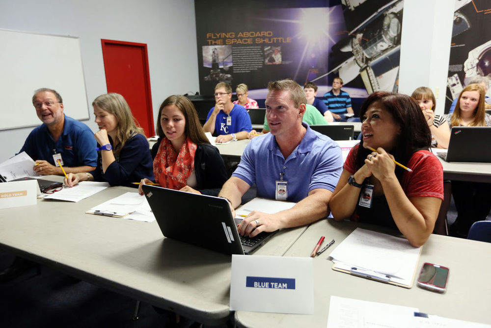 """Participants Work in """"Mission Control"""""""