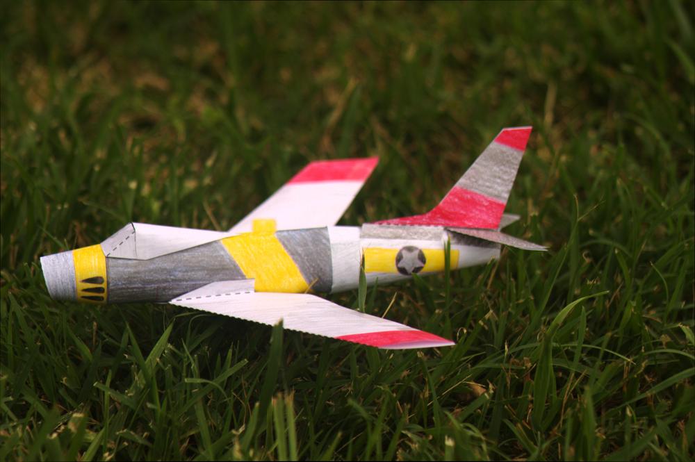 """Custom Paper Airplane"""