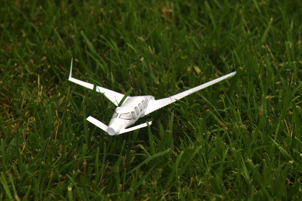 "Custom ""Paper Airplane"""