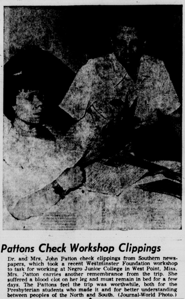 From the Lawrence Daily Journal World, June 28, 1957.