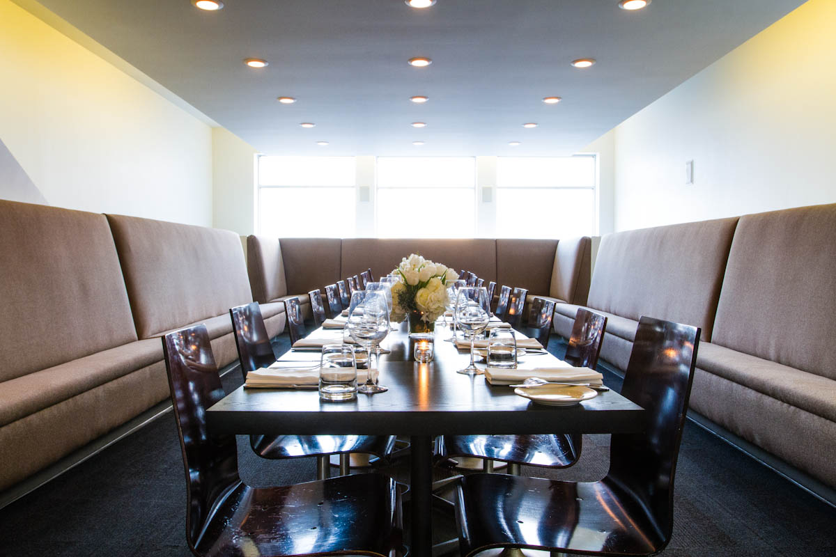 private dining room set for 22 1 jpg private events blackbird - Private Dining Rooms Chicago