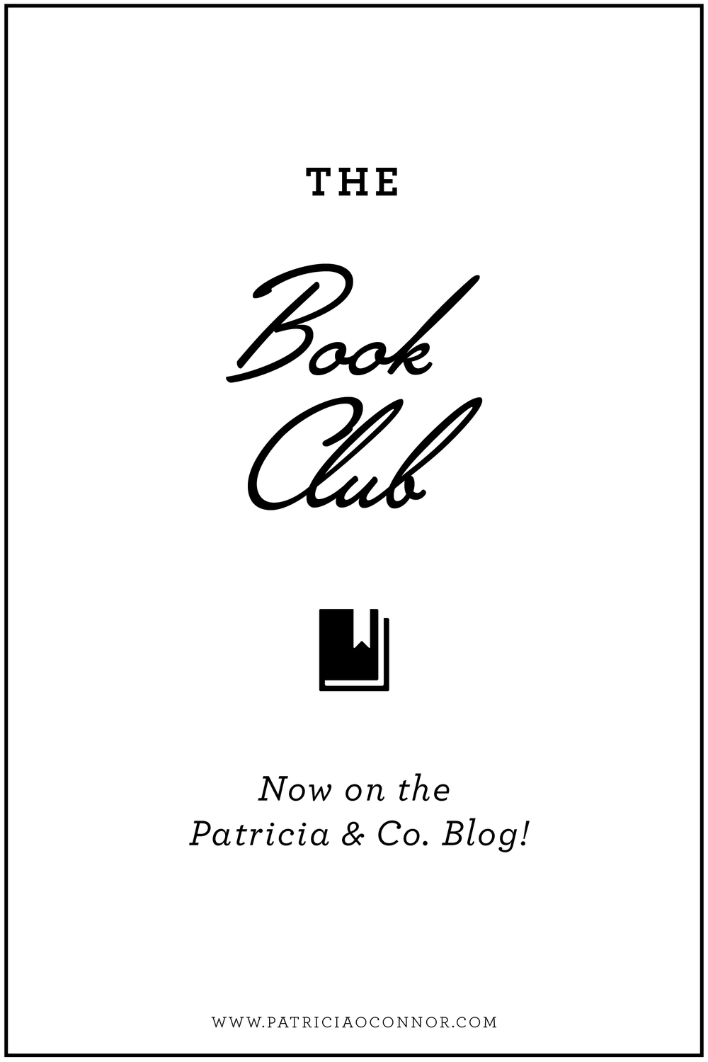 Introducing the Patricia & Co. Book Club