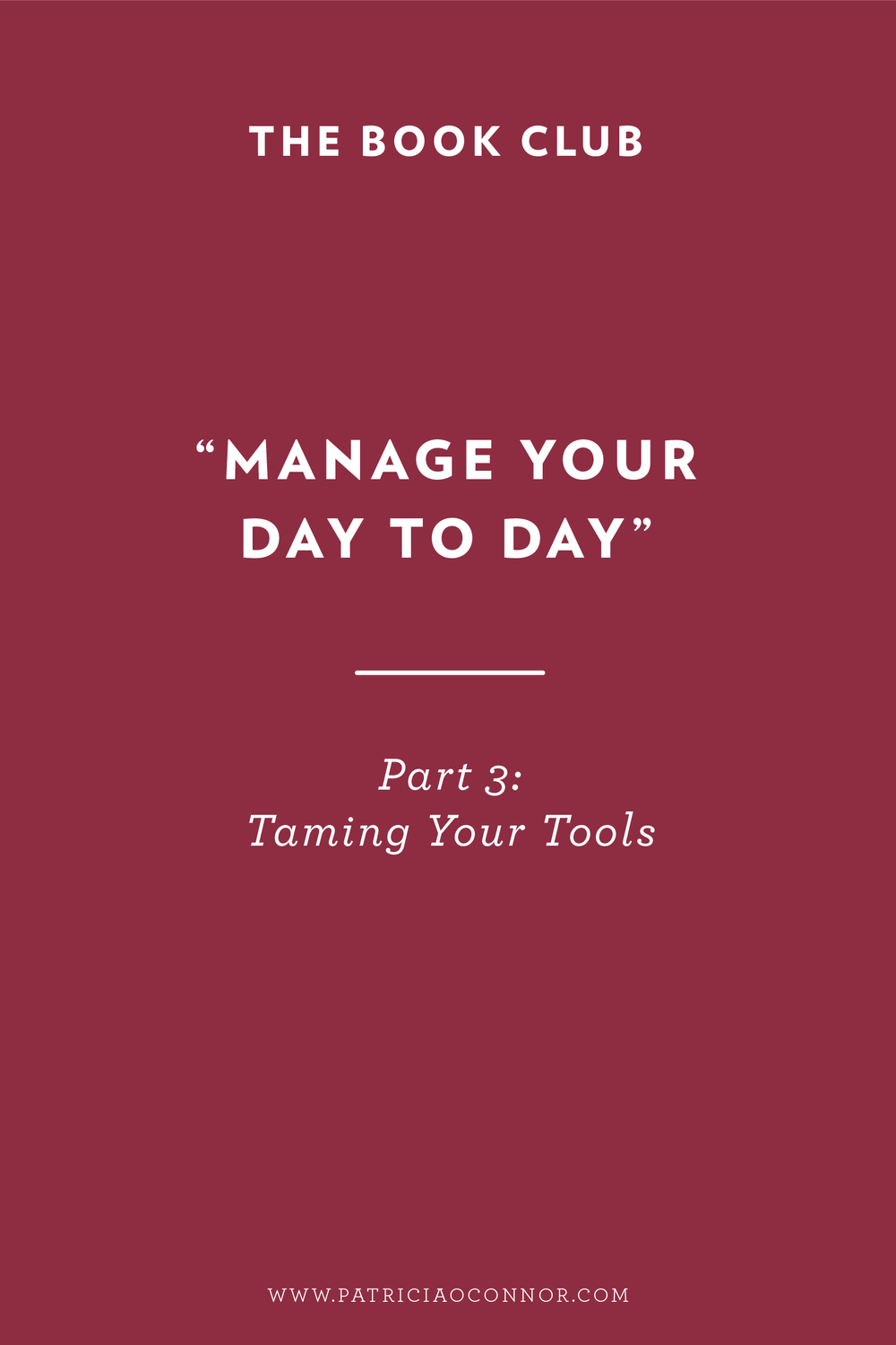 Learn how to tame your tools and be your most productive self!