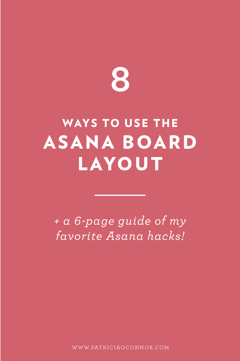 Learn how to use the new Asana board layout!