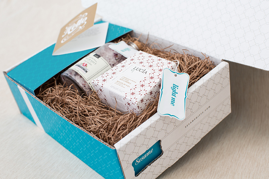 Sesame Gifts - A curated gifting app with unboxing experience that will wow your lucky recipient.
