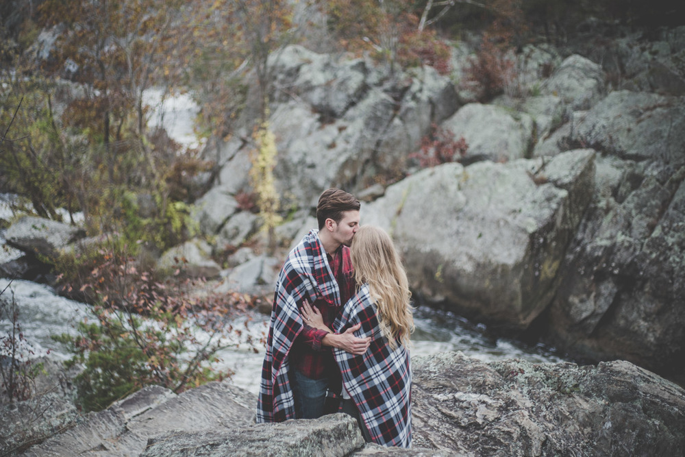 blanket engagement shoot prop