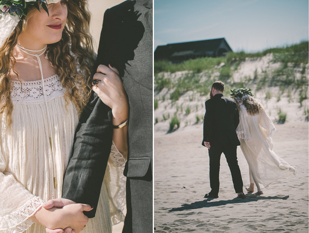 bride and groom walking on beach.jpg