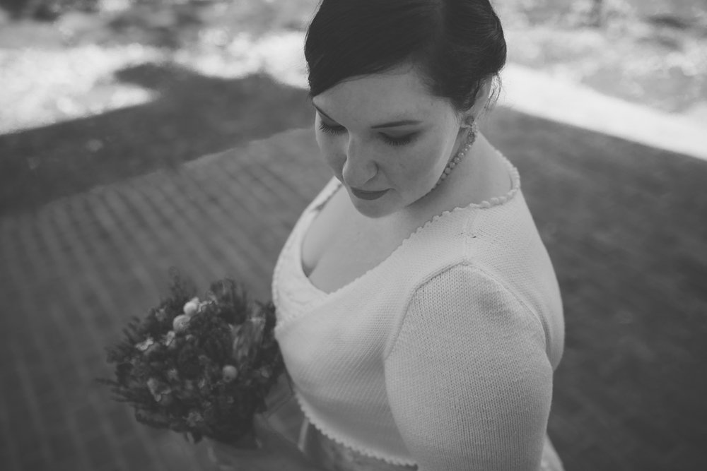 cherry hill farmhouse bride b&w.jpg