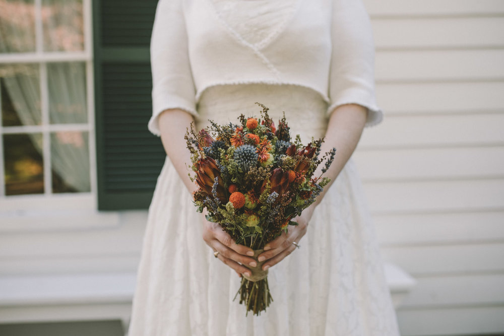 cherry hill farmhouse bride dried flowers bouquet.jpg