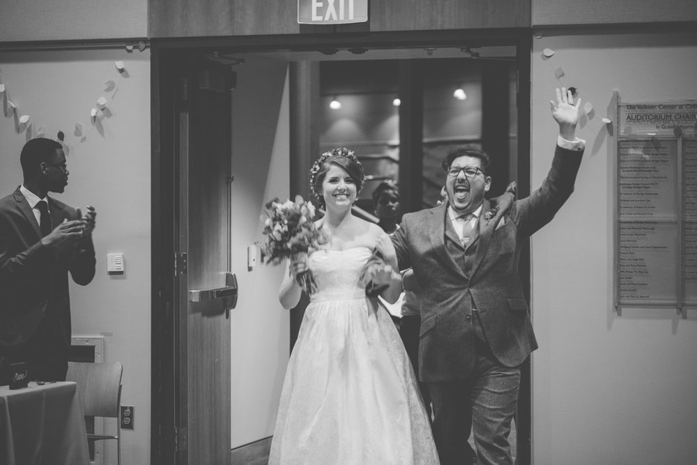 cylburn arboretum baltimore wedding bride and groom introduction.jpg