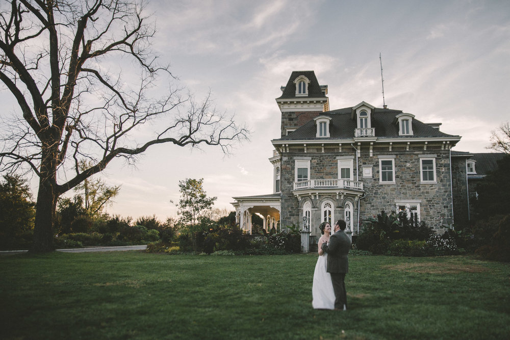 cylburn arboretum baltimore wedding bride and groom old mansion.jpg