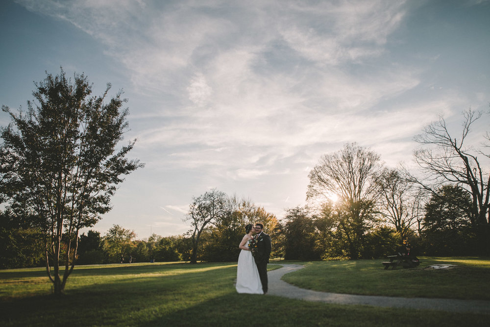 cylburn arboretum baltimore wedding bride and groom trees.jpg