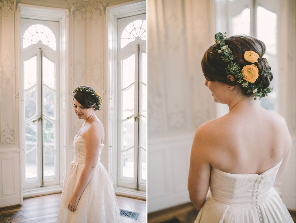 cylburn arboretum baltimore wedding bride portrait.jpg
