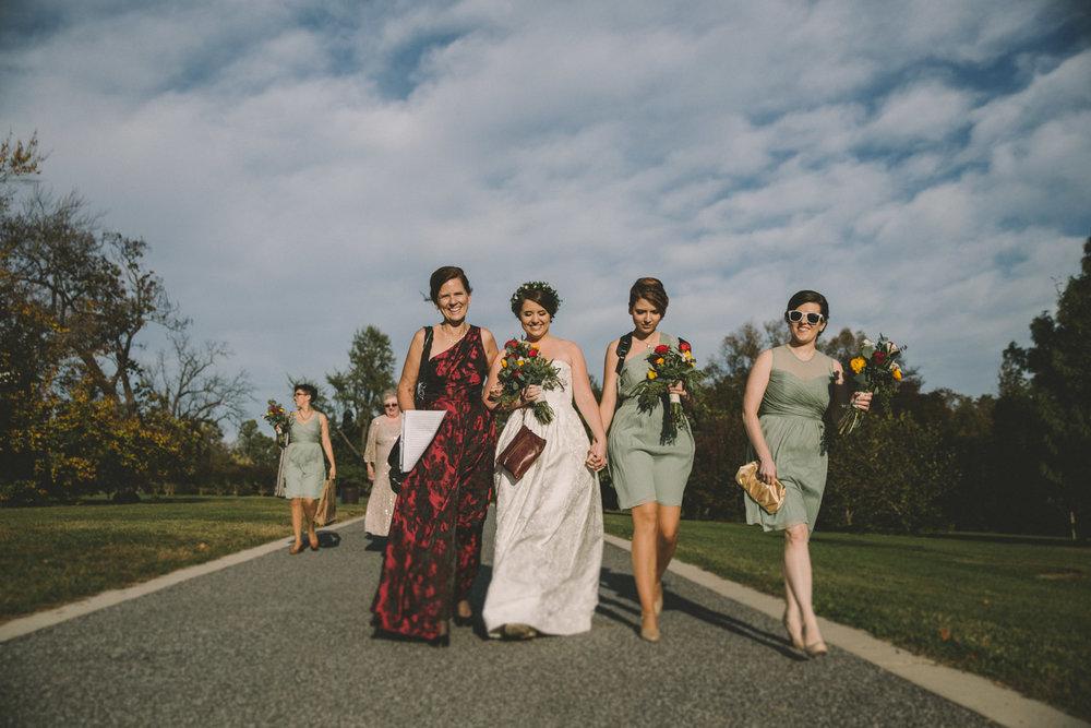 cylburn arboretum baltimore wedding bride walking.jpg