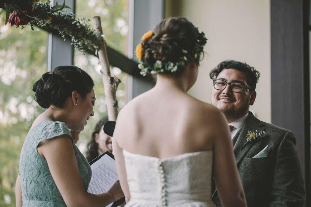 cylburn arboretum baltimore wedding ceremony groom.jpg