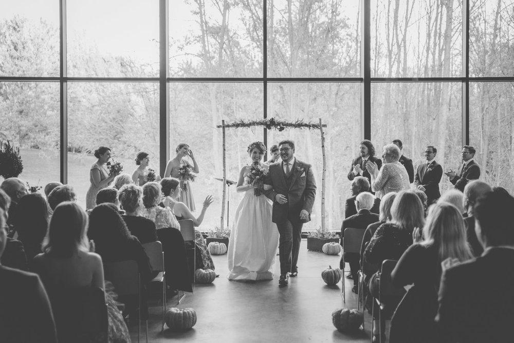 cylburn arboretum baltimore wedding ceremony happy.jpg