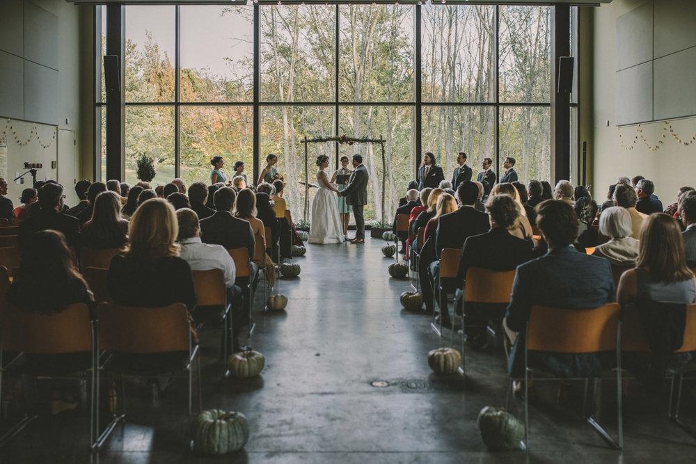 cylburn arboretum baltimore wedding ceremony wide shot.jpg