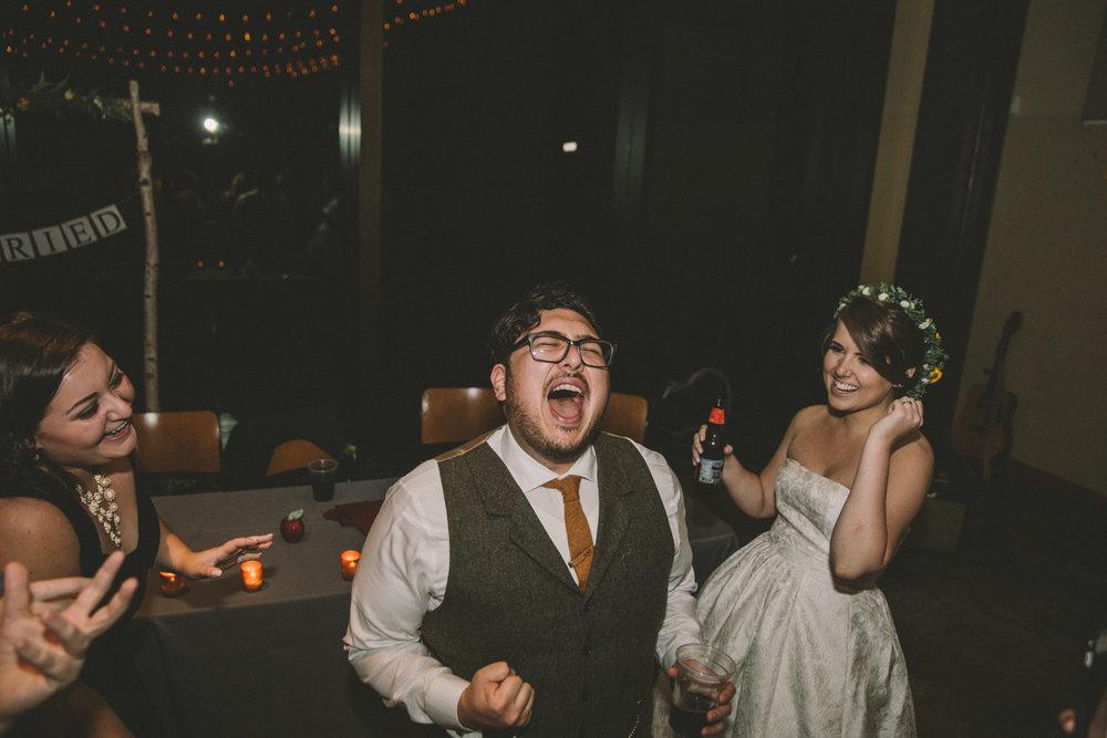 cylburn arboretum baltimore wedding groom dancing singing.jpg