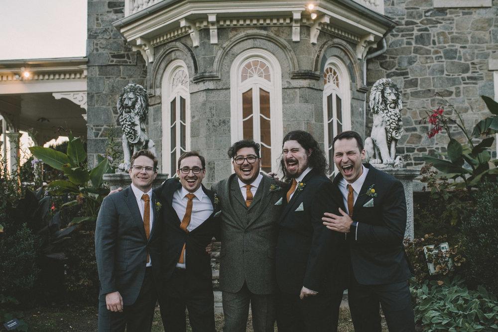 cylburn arboretum baltimore wedding groomsmen.jpg