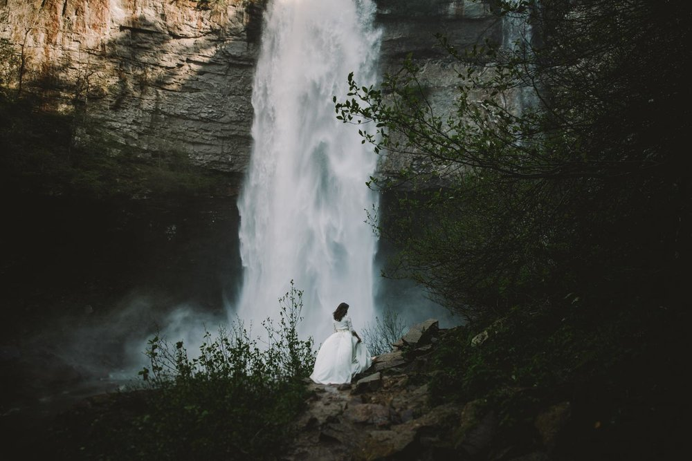 Elopement Destination Wedding Photographer waterfall.jpg