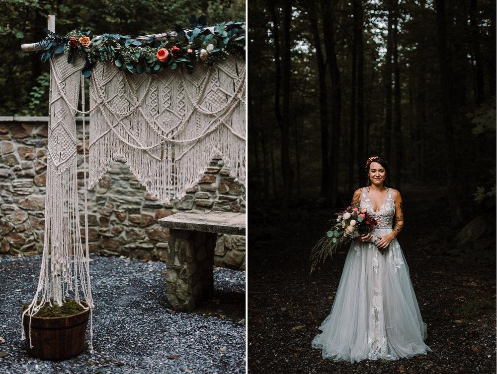 barbara O photography md dc camp wedding photographer macrame backdrop.jpg