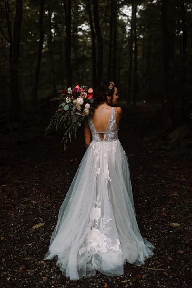 1809-barbara o photography grey wedding dress thurman and fig bouquet01.jpg