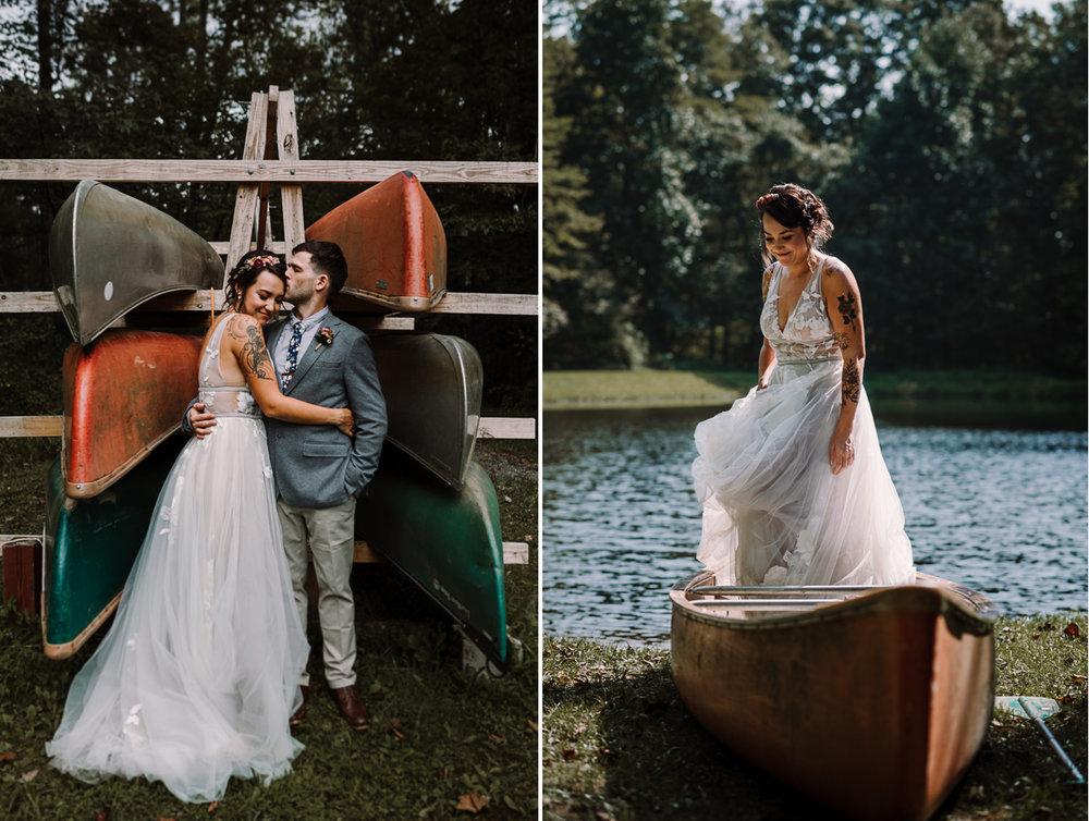 barbara O photography md dc camp west mar wedding photographer canoe.jpg