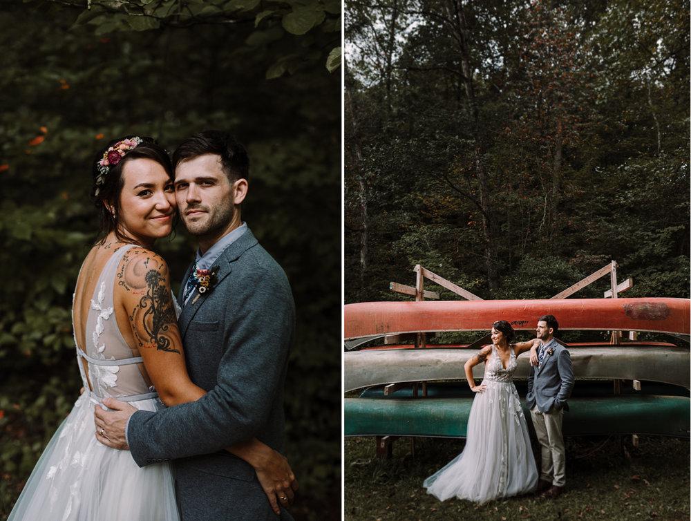barbara O photography md dc camp wedding photographer canoe.jpg