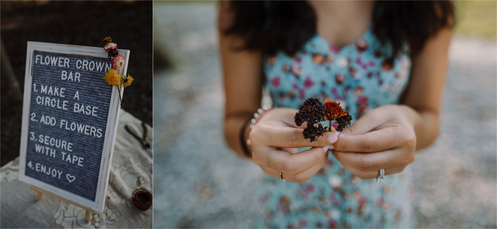 barbara O photography md dc camp wedding photographer flower crown bar.jpg