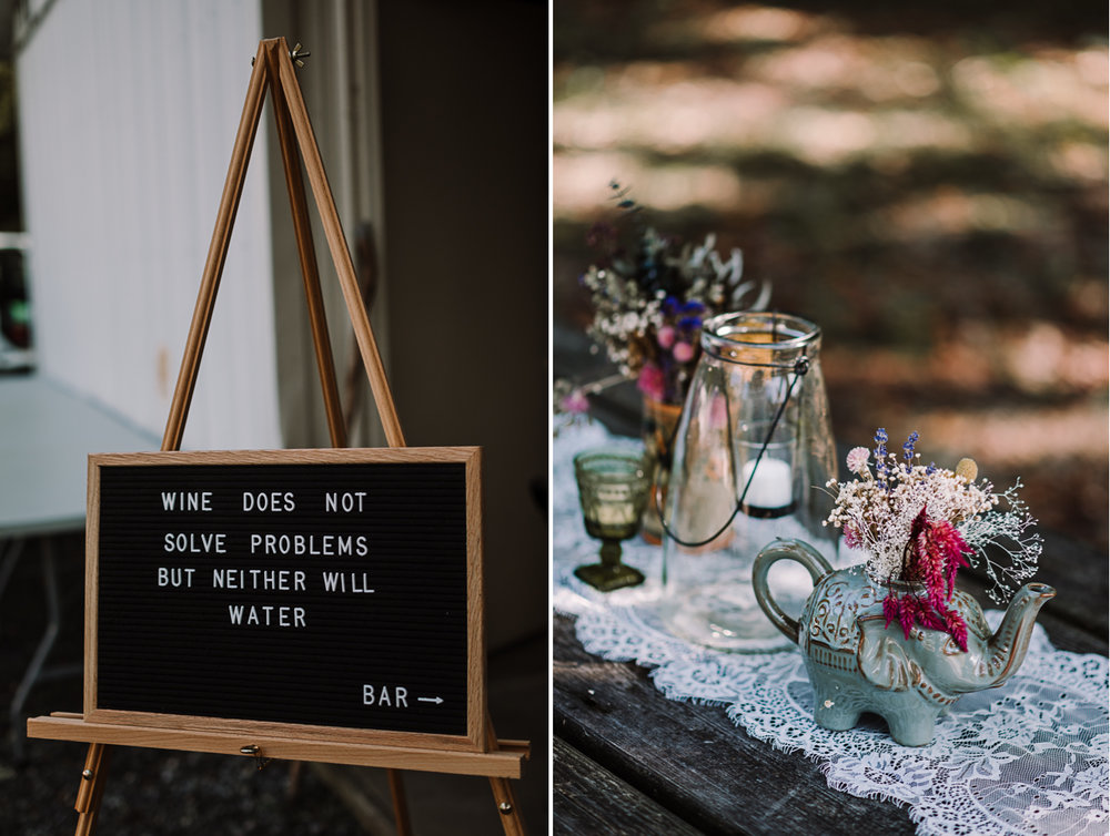 barbara O photography md dc camp wedding photographer diy signage.jpg