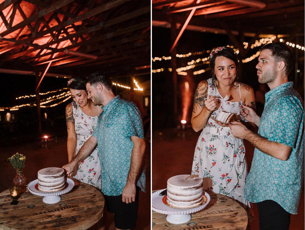 barbara O photography dc camp wedding photographer cake cutting.jpg