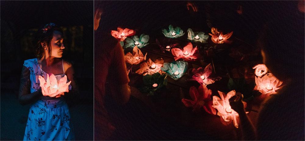 barbara O photography dc camp wedding photographer night paper lanterns.jpg