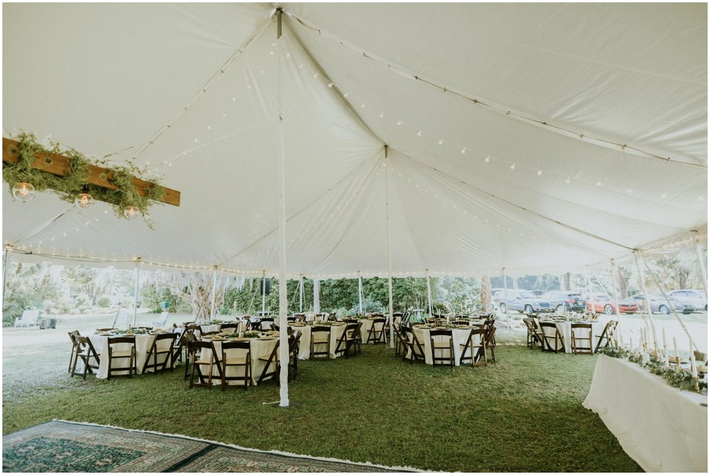 Wedding reception at The Glen Venue