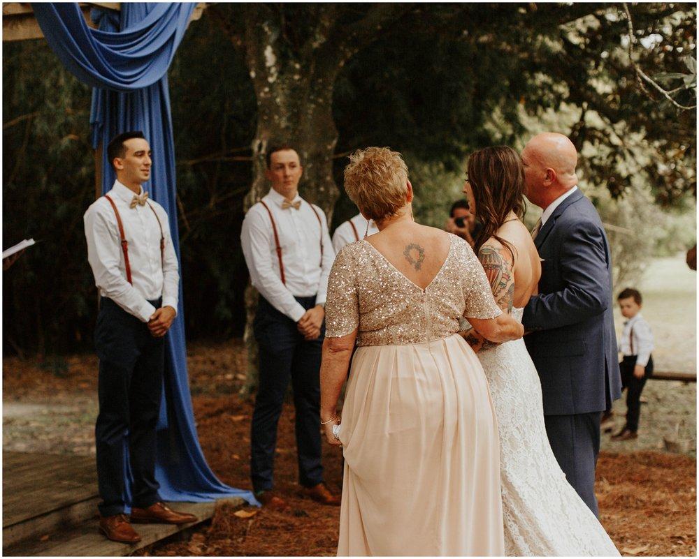 Wedding ceremony in Jacksonville