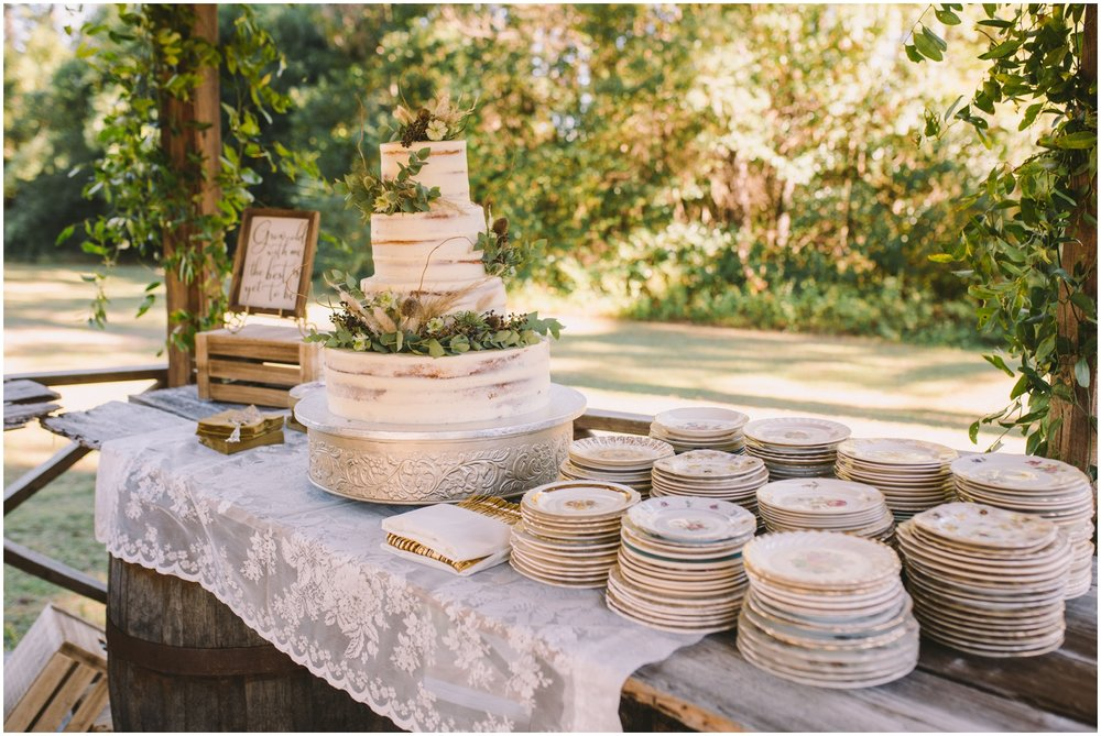Wedding Cake Table Display