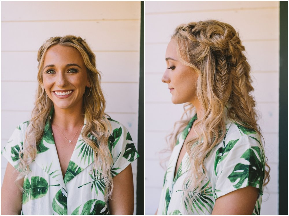 Bride Wedding Hairstyle with Braids