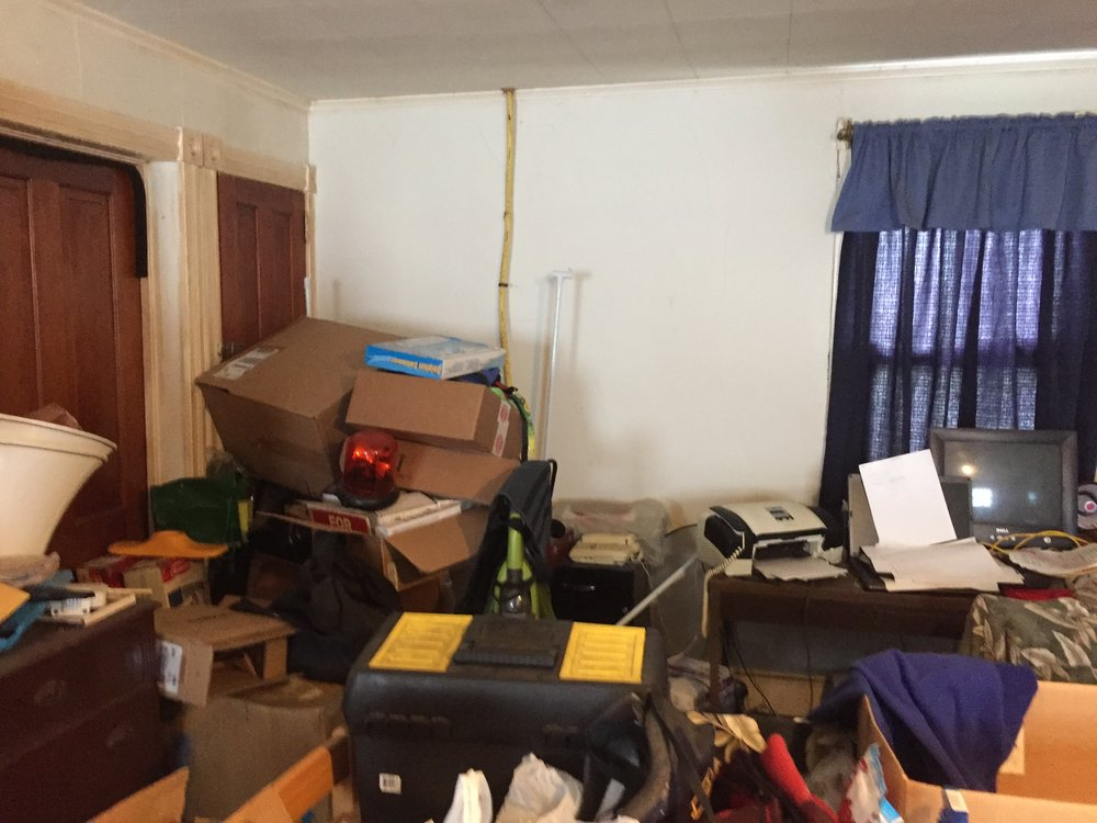 What kind of living is done in this living room? I wonder if they booked rentals via fax?