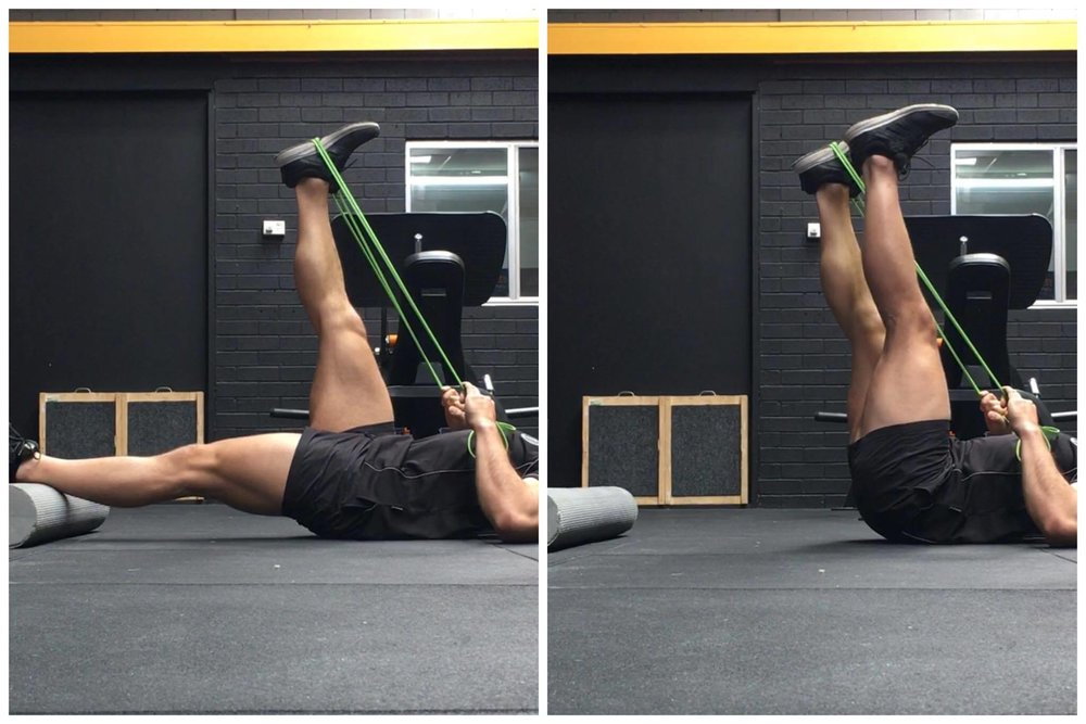 The 'Active Leg Raise' can help unlock some hidden hamstring mobility