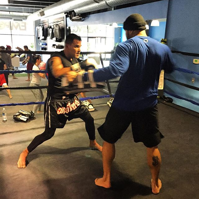 Shout out to EMPOWER BEAST of the day @gabriele_originario working hard with coach @badwotermma