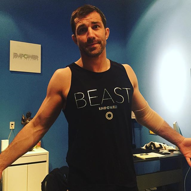Dress like the world champ @lukerockhold your Empower Beast tank at www.empowerconcept.com/shop