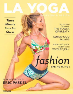 LA YOGA  Magazine, April 2015
