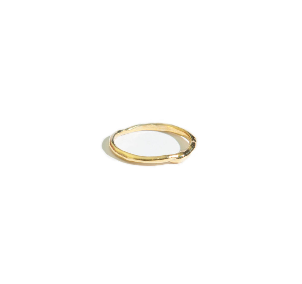 Cameron Studio - Melt Ring 14k Gold