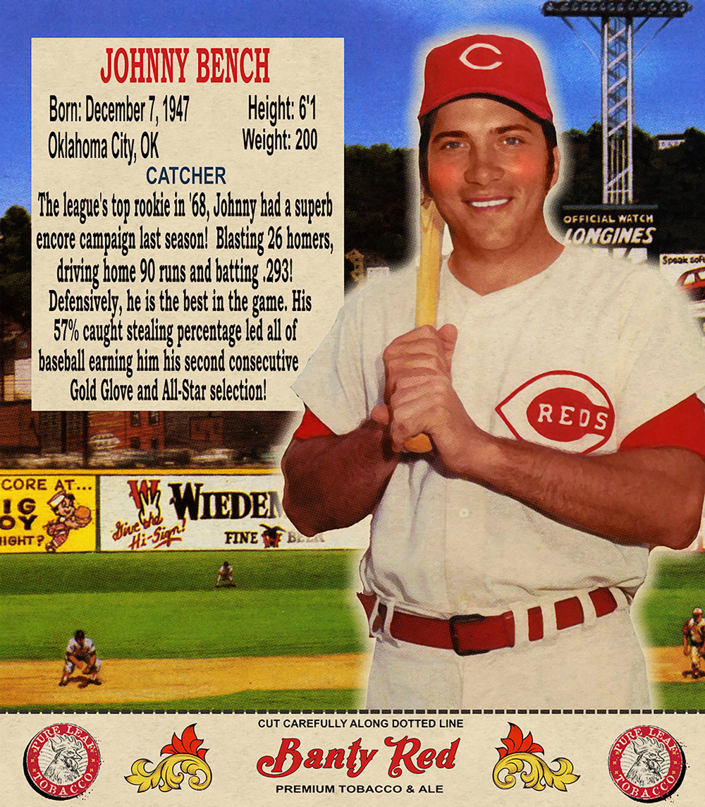 1970 JOHNNY BENCH 2/20/17 Auction closes at $73.23 USD - Current Population of 1
